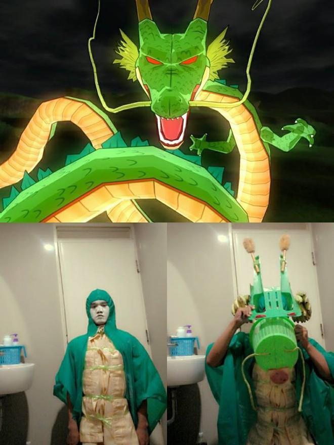 [Vui] Qùy lạy với bộ ảnh cosplay Dragon Ball Z siêu hài hước của anh chàng Thái Lan - Ảnh 11.