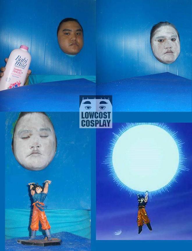 [Vui] Qùy lạy với bộ ảnh cosplay Dragon Ball Z siêu hài hước của anh chàng Thái Lan - Ảnh 5.