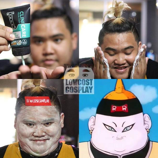 [Vui] Qùy lạy với bộ ảnh cosplay Dragon Ball Z siêu hài hước của anh chàng Thái Lan - Ảnh 14.