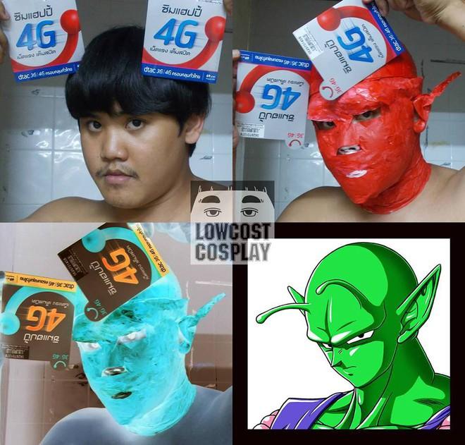 [Vui] Qùy lạy với bộ ảnh cosplay Dragon Ball Z siêu hài hước của anh chàng Thái Lan - Ảnh 15.