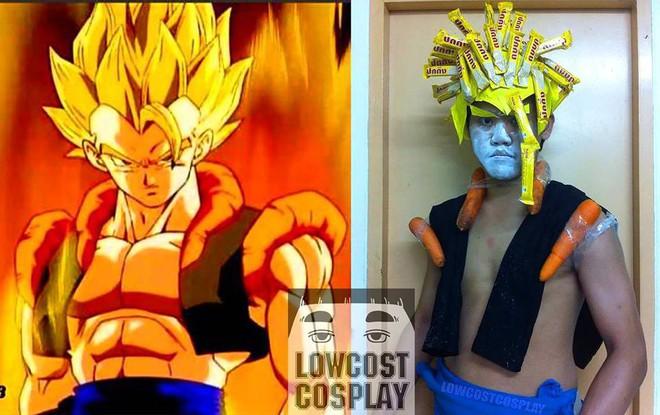 [Vui] Qùy lạy với bộ ảnh cosplay Dragon Ball Z siêu hài hước của anh chàng Thái Lan - Ảnh 17.