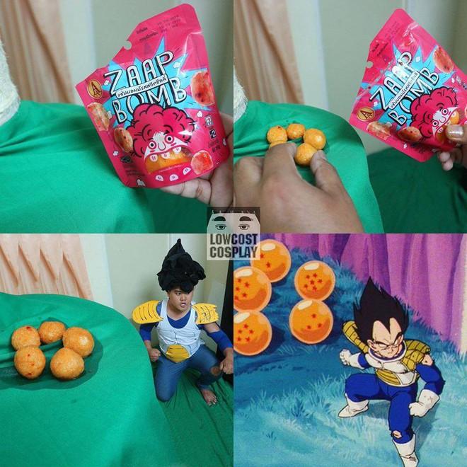 [Vui] Qùy lạy với bộ ảnh cosplay Dragon Ball Z siêu hài hước của anh chàng Thái Lan - Ảnh 18.
