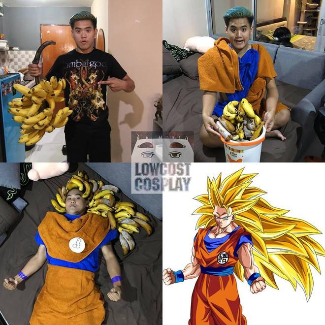 [Vui] Qùy lạy với bộ ảnh cosplay Dragon Ball Z siêu hài hước của anh chàng Thái Lan - Ảnh 21.