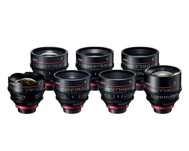 Dải ống kính chuyên quay phim của Canon