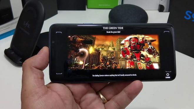 Samsung Galaxy S9+ sở hữu cấu hình mạnh mẽ để mang lại trải nghiệm chơi game trọn vẹn nhất.