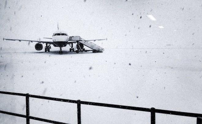Hình ảnh bão tuyết Emma quần thảo dữ dội khiến nước Anh tê liệt - Ảnh 3.
