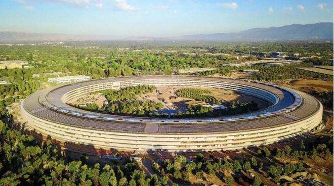 Trụ sở làm việc mới của Apple - Apple Park, thực sự là một công trình hoành tráng và ấn tượng.