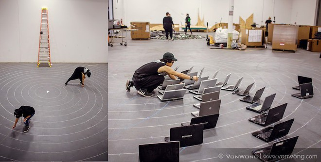 Nhóm nghệ sĩ biến gần 2 tấn rác thải điện tử thành những tác phẩm nghệ thuật tuyệt đẹp - Ảnh 8.