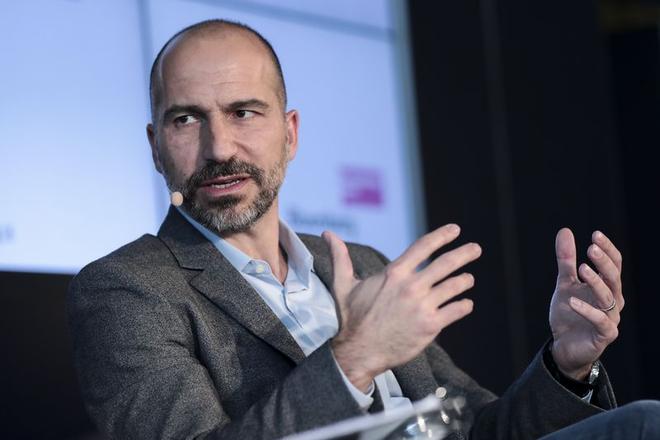 CEO của Uber hiện tại, ông Dara Khosrowshahi.