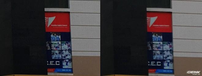 Ảnh chụp từ Galaxy S9 trong điều kiện đủ sáng ở khẩu độ f/2.4 (trái) rõ nét hơn hẳn f/1.5 (phải).