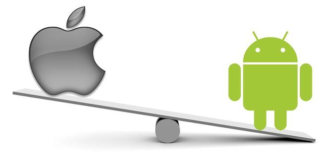 Mức độ trung thành với thương hiệu của người dùng Android cao hơn một chút so với người dùng iOS.