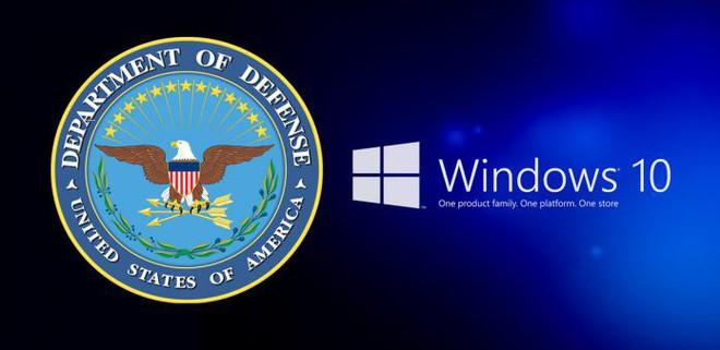 Toàn bộ máy tính tại Bộ Quốc phòng Mỹ đã được lên đời Windows 10 - Ảnh 1.