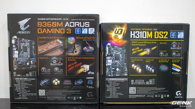 Mở hộp bộ đôi bo mạch chủ Gigabyte H310M DS2 và B360M Aorus Gaming 3: Đã đến lúc nâng cấp máy tính rồi các game thủ ơi! - Ảnh 3.