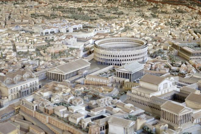 Chiêm ngưỡng mô hình thành Rome cổ đại với tỷ lệ 1:250, mất tới 38 năm mới hoàn thành - Ảnh 5.