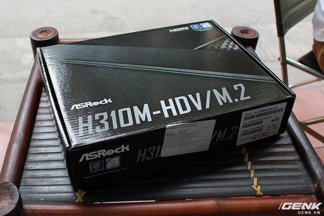 [Review] ASRock H310M-HDV/M.2: Chiếc bo mạch chủ Coffee Lake bình dân game thủ mong chờ bấy lâu nay - Ảnh 2.