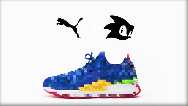 SEGA hợp tác PUMA cho ra mắt mẫu sneakers ấn tượng lấy cảm hứng từ Sonic the Hedgehog - Ảnh 2.