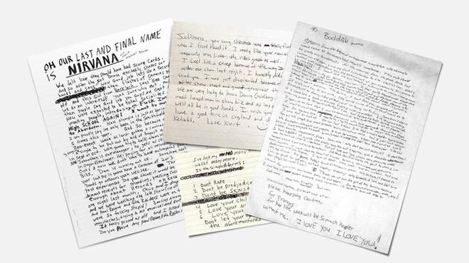 Tìm lại thanh xuân qua font chữ viết tay của những huyền thoại âm nhạc như Kurt Coban, John Lennon và David Bowie - Ảnh 2.