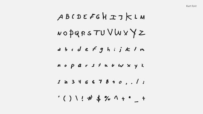 Tìm lại thanh xuân qua font chữ viết tay của những huyền thoại âm nhạc như Kurt Coban, John Lennon và David Bowie - Ảnh 3.