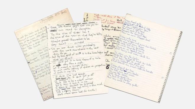 Tìm lại thanh xuân qua font chữ viết tay của những huyền thoại âm nhạc như Kurt Coban, John Lennon và David Bowie - Ảnh 8.