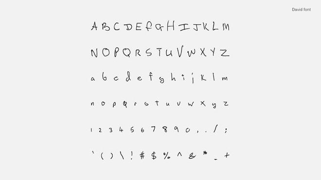 Tìm lại thanh xuân qua font chữ viết tay của những huyền thoại âm nhạc như Kurt Coban, John Lennon và David Bowie - Ảnh 9.