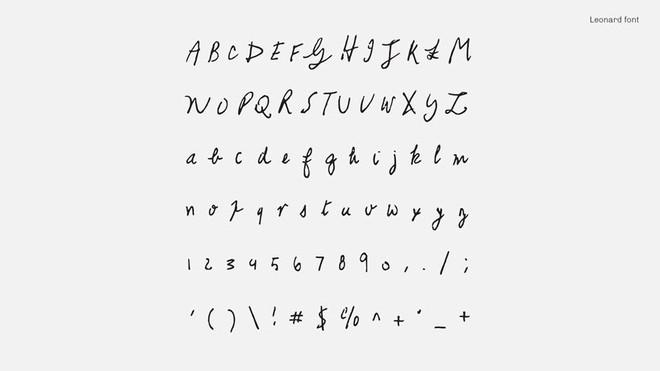 Tìm lại thanh xuân qua font chữ viết tay của những huyền thoại âm nhạc như Kurt Coban, John Lennon và David Bowie - Ảnh 12.
