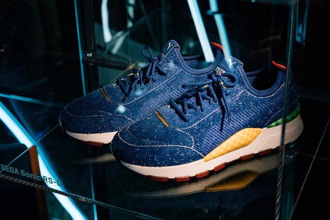 SEGA hợp tác PUMA cho ra mắt mẫu sneakers ấn tượng lấy cảm hứng từ Sonic the Hedgehog - Ảnh 3.