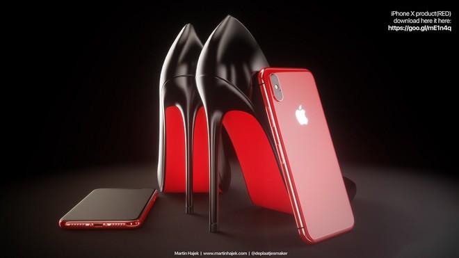 Ngắm concept iPhone X Blush Gold và (PRODUCT)RED, đẹp đến nỗi khó trở thành hiện thực - Ảnh 7.