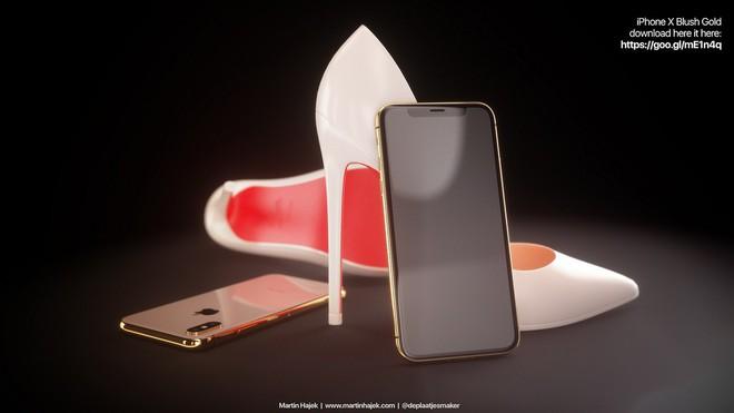 Ngắm concept iPhone X Blush Gold và (PRODUCT)RED, đẹp đến nỗi khó trở thành hiện thực - Ảnh 6.