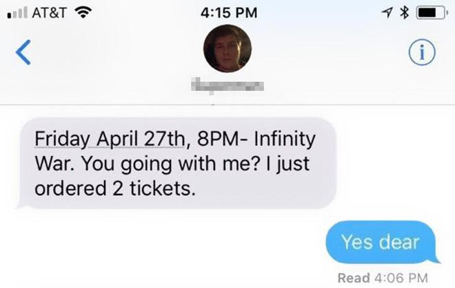 Đặt ra 6 quy tắc khắt khe trước khi đưa bạn gái đi xem Avengers: Infinity War, chàng trai được Internet ủng hộ nhiệt liệt - Ảnh 2.