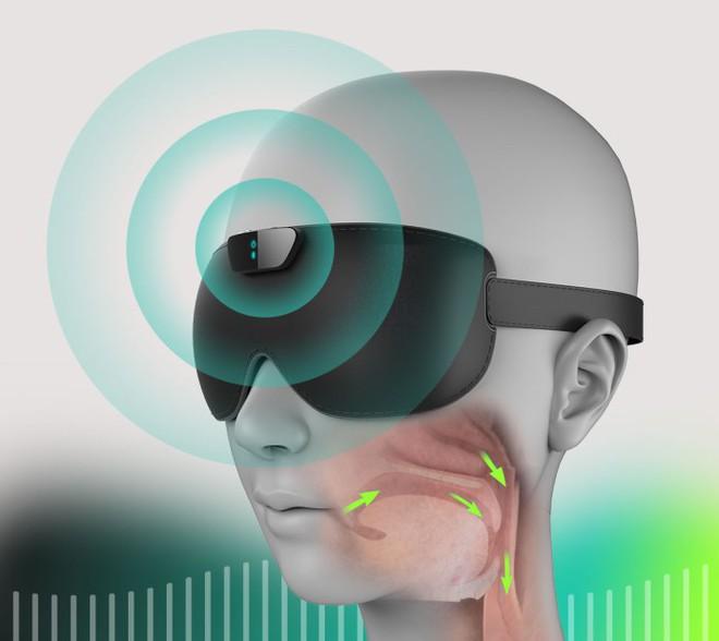 Snore Circle - Chiếc bịt mắt đi kèm cả chức năng chống ngáy sẽ cho người thân của bạn giấc ngủ yên bình - Ảnh 2.