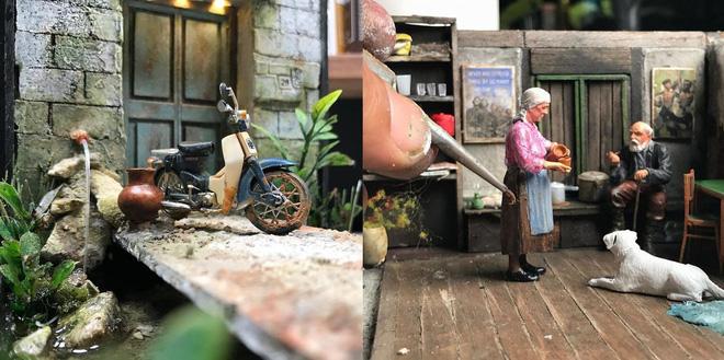 Nghệ sĩ Malaysia khiến Internet suýt xoa vì khả năng mô phỏng ký ức tài tình bằng mô hình - Ảnh 1.