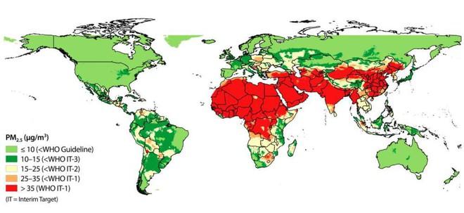 Con số gây sốc: 95% dân cư toàn thế giới đang phải sinh sống trong bầu không khí dưới mức tiêu chuẩn - Ảnh 1.