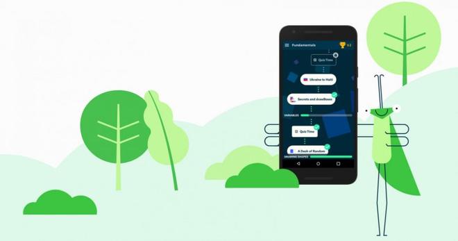 Grasshopper - ứng dụng dạy lập trình trực quan, miễn phí đến từ Google - Ảnh 1.