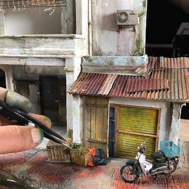 Nghệ sĩ Malaysia khiến Internet suýt xoa vì khả năng mô phỏng ký ức tài tình bằng mô hình - Ảnh 4.