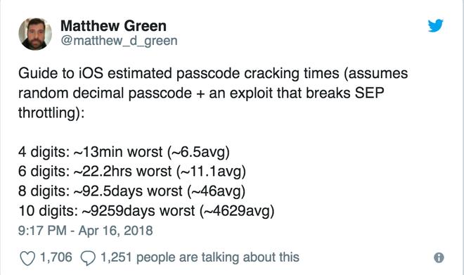 Cảnh sát Mỹ đã có thể dễ dàng phá khoá PIN 6 số của iPhone - Ảnh 4.