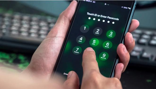 Cảnh sát Mỹ đã có thể dễ dàng phá khoá PIN 6 số của iPhone - Ảnh 1.