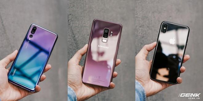 So găng thiết kế Huawei P20 Pro, Galaxy S9+ và iPhone X: theo bạn đâu là smartphone đẹp nhất? - Ảnh 2.