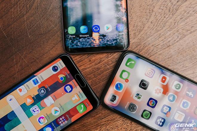 So găng thiết kế Huawei P20 Pro, Galaxy S9+ và iPhone X: theo bạn đâu là smartphone đẹp nhất? - Ảnh 6.