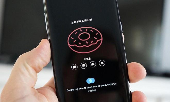 Always-on Display trên Galaxy S8 và Note 8 cũng đã hỗ trợ ảnh động trong bản cập nhật mới nhất.