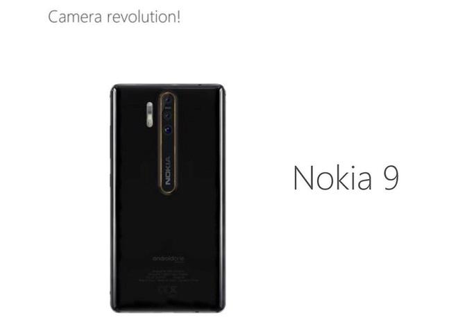 Nokia 9 rò rỉ thông số kỹ thuật với đèn flash Xenon và hệ thống 3 camera - Ảnh 1.