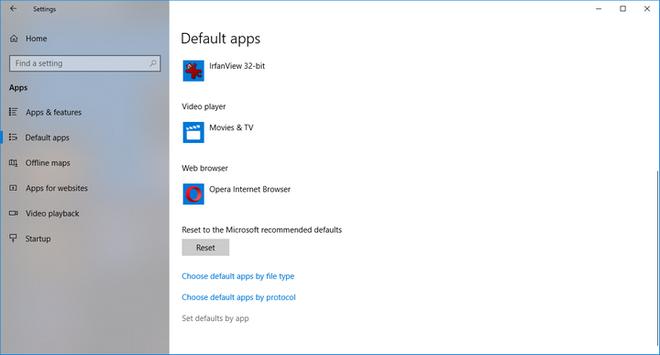 Xuất hiện lỗi crash khi đổi ứng dụng mặc định trong Windows 10 Spring Creators sắp phát hành - Ảnh 2.