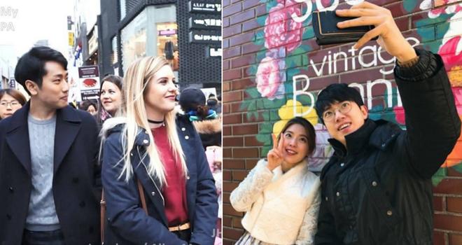 Hàn Quốc cho thuê ộp pa để dẫn các chị em đi chơi hoặc mua sắm chụp hình - Ảnh 1.