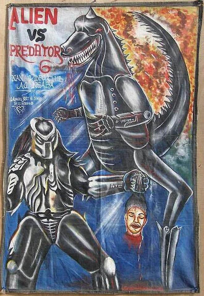 Poster phim Hollywood vẽ tay theo phong cách châu Phi xấu đến mức đẹp tuyệt vời - Ảnh 3.