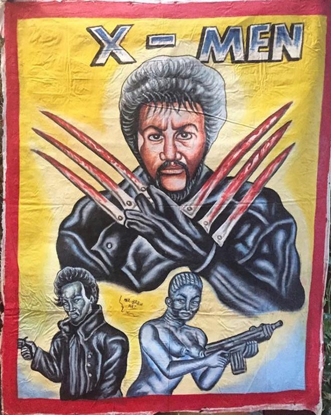 Poster phim Hollywood vẽ tay theo phong cách châu Phi xấu đến mức đẹp tuyệt vời - Ảnh 7.