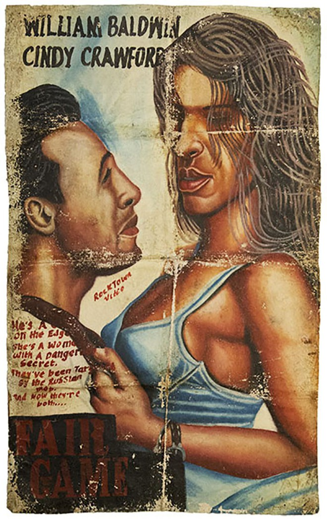 Poster phim Hollywood vẽ tay theo phong cách châu Phi xấu đến mức đẹp tuyệt vời - Ảnh 11.