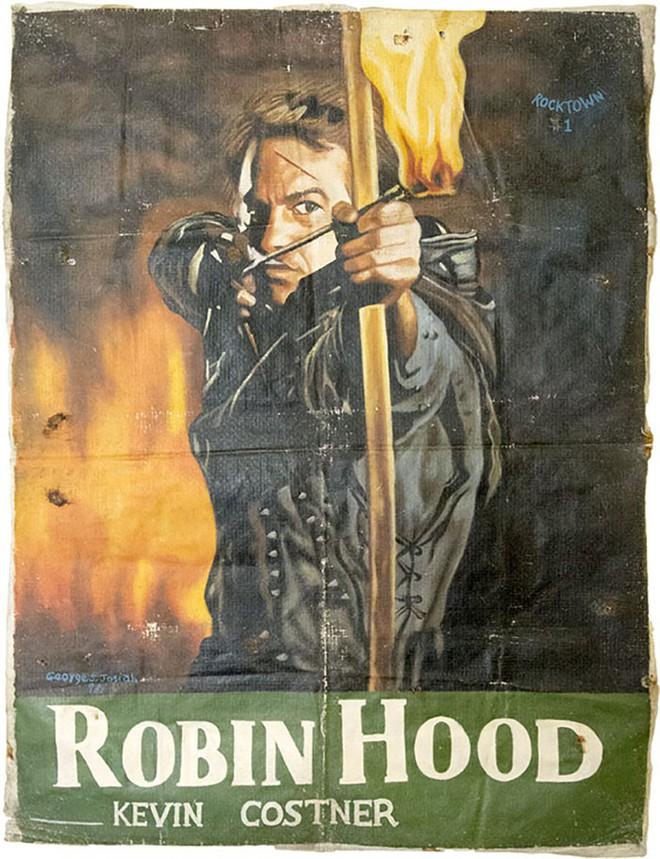 Poster phim Hollywood vẽ tay theo phong cách châu Phi xấu đến mức đẹp tuyệt vời - Ảnh 13.