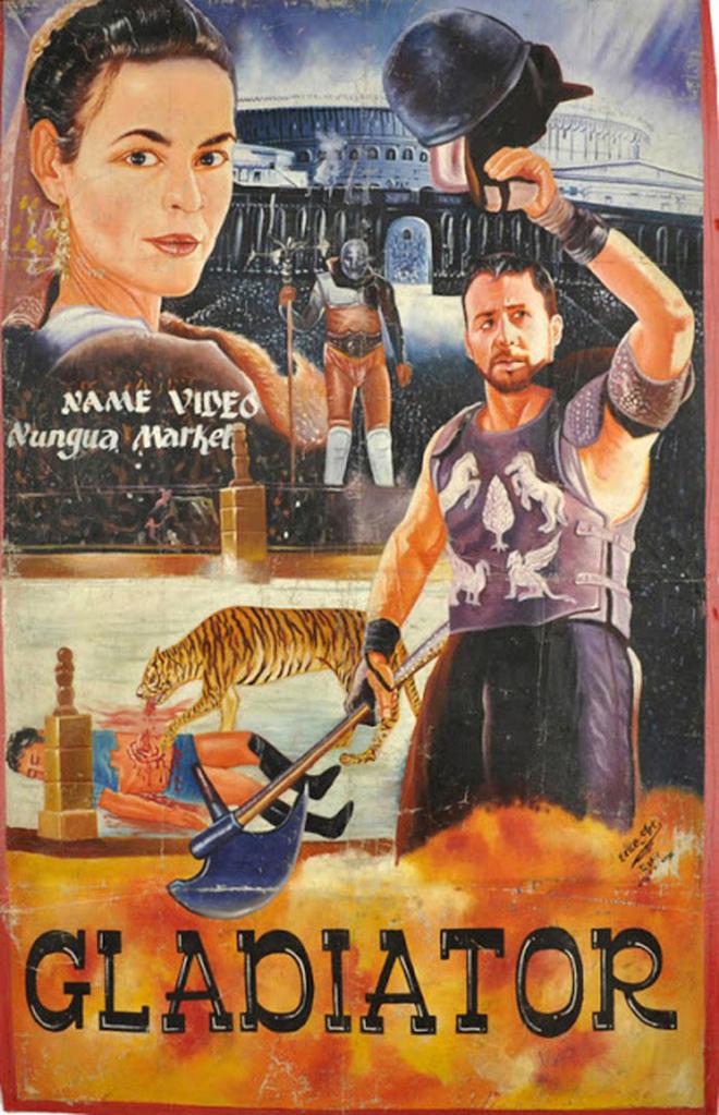 Poster phim Hollywood vẽ tay theo phong cách châu Phi xấu đến mức đẹp tuyệt vời - Ảnh 14.