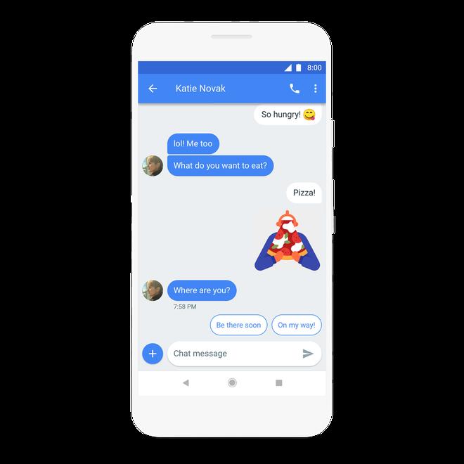 Google một lần nữa tìm cách giải quyết mớ bòng bong nhắn tin trên Android với Chat - Ảnh 8.