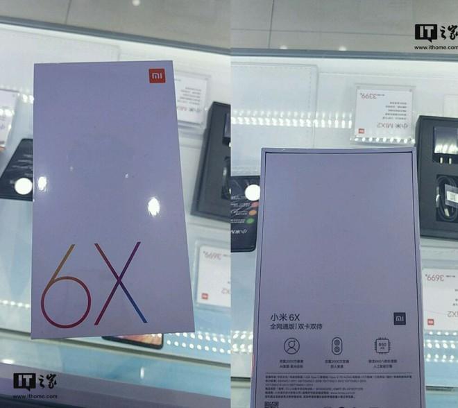 Xuất hiện vỏ hộp thương mại Mi 6X cận ngày ra mắt, xác nhận camera 20MP, chip Snapdragon 660 - Ảnh 1.
