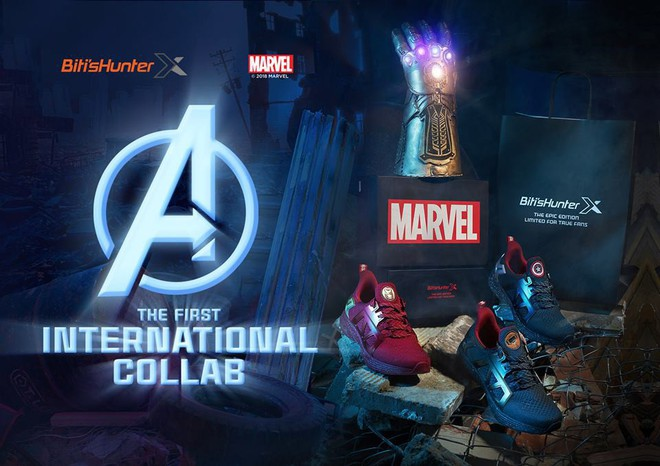 Bitis ra mắt ba mẫu giày siêu anh hùng HUNTER X MARVEL ngay dịp công chiếu Avengers: Infinity War - Ảnh 1.